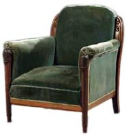 confortable Armchair 1920's dufresne