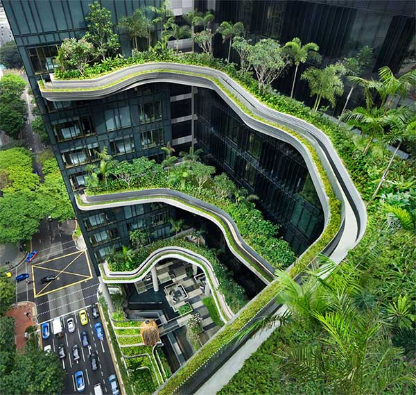 sky garden at the parkhotel singapore