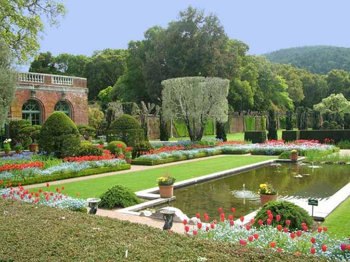 Image gallery italian gardens for Italian garden design