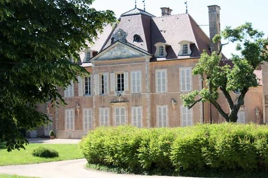 Chateau of Grosbois, burgundy, france