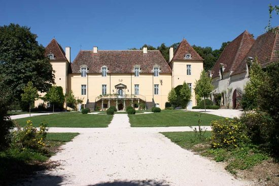 Chateau of Creancey burgundy