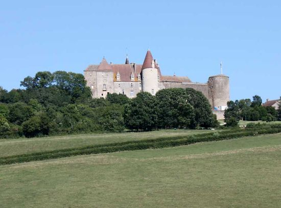 Chateauneuf, burgundy