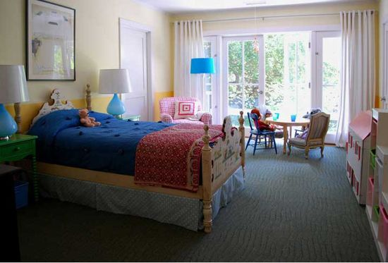 A kid's room designed by  Molly Luetkemeyer