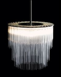 A 21st century chandelier  by Tom Kirk
