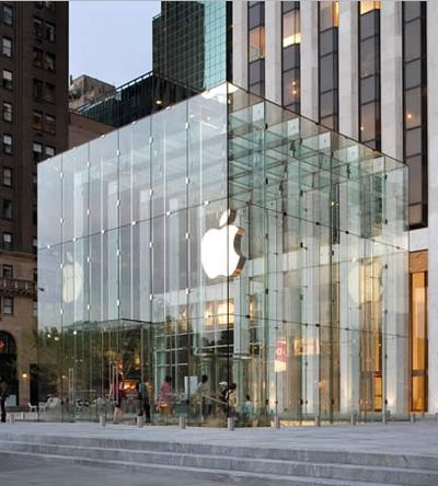 apple store designed by Bohlin