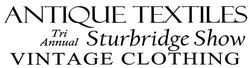 Sturbridge Vintage Fashion & Textile show