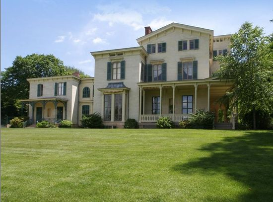 1853 mansion on the Hudson