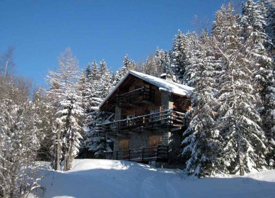 Traditional Chalet in the Alps, Meribel, France