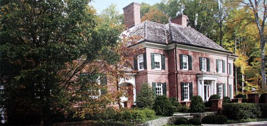 English Georgian Estate, Princeton