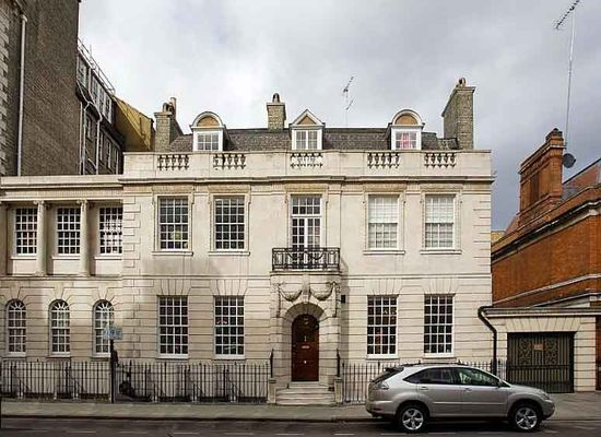 An Historic House in London, W1