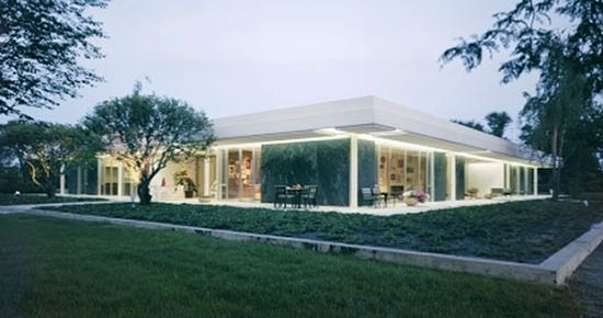 Ranch House designed by  Eero Saarinen