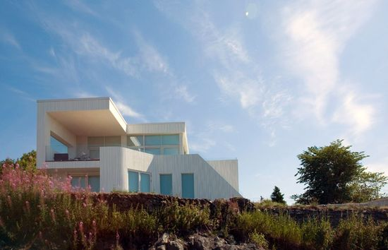 Villa G by Architect Todd Sanders, Bergen, Norway