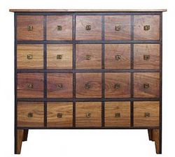 african furniture 20 drawers