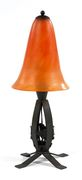 Edgar Brandt Lamp, Daum nancy