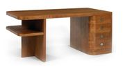 Art Deco Desk. Ebony