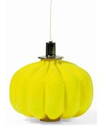 Murano yellow hanging lamp