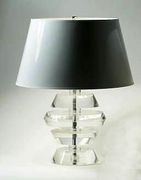 A Karl Springer Lamp