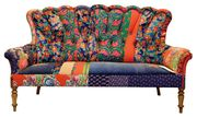 Bokja blue rose sofa