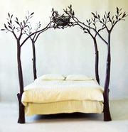 Tree Bed by Shawn Lovell