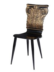 Piero Fornasetti Capitello   Chair