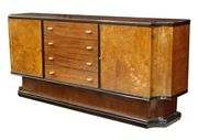 Burl and Rosewood Sideboard, 1940's