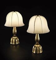 Pair of Table Lamps, Josef Hoffmann