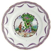 A CHINESE EXPORT PLATE