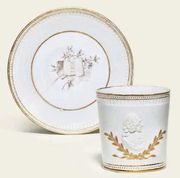 F�RSTENBERG PORTRAIT COFFEE-CUP AND SAUCER