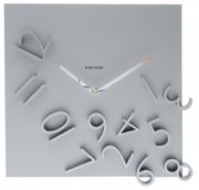 Dutch design falling number clock