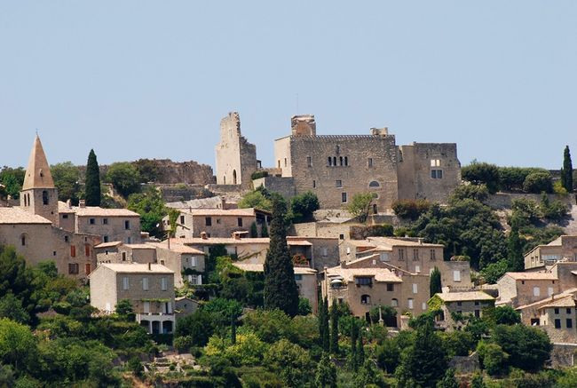 A XII Century Fortress Revisited Provence