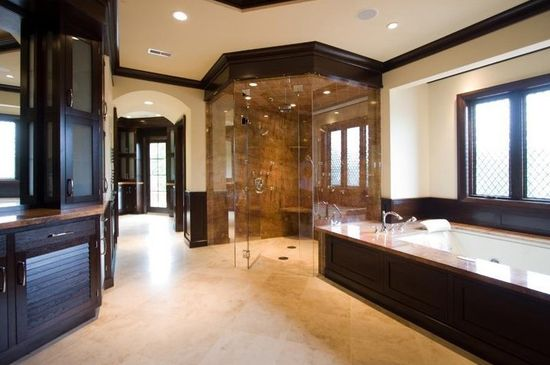 A large modern bathroom