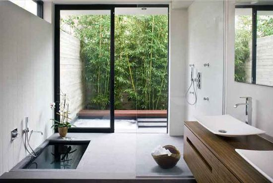 A Japanese style bathroom