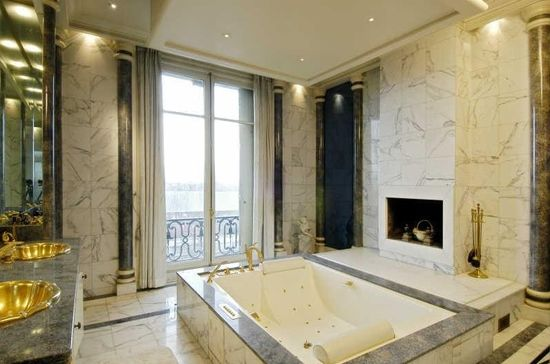 Gold and Marble in Paris