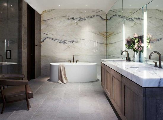 A Bathroom Designed by Laura Kirar