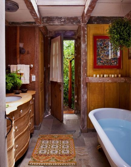 A bathroom designed by Molly Luetkemeyer