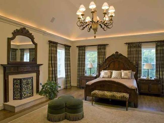 A signature artisan revival-style bedroom