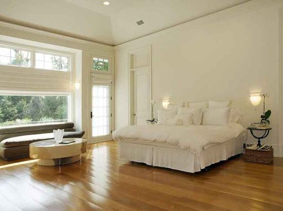 A Classic Modern white bedroom
