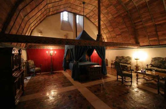 A Medieval Sanctuary for a Bedroom