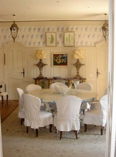 A Chic Dining Room