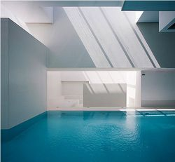 Swimming pool designed by Jean Nouvel