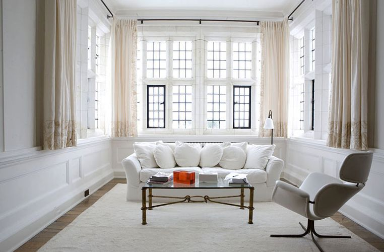 robert couturier designed  living room